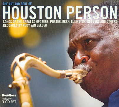 ART AND SOUL OF HOUSTON PERSON BY PERSON,HOUSTON (CD)